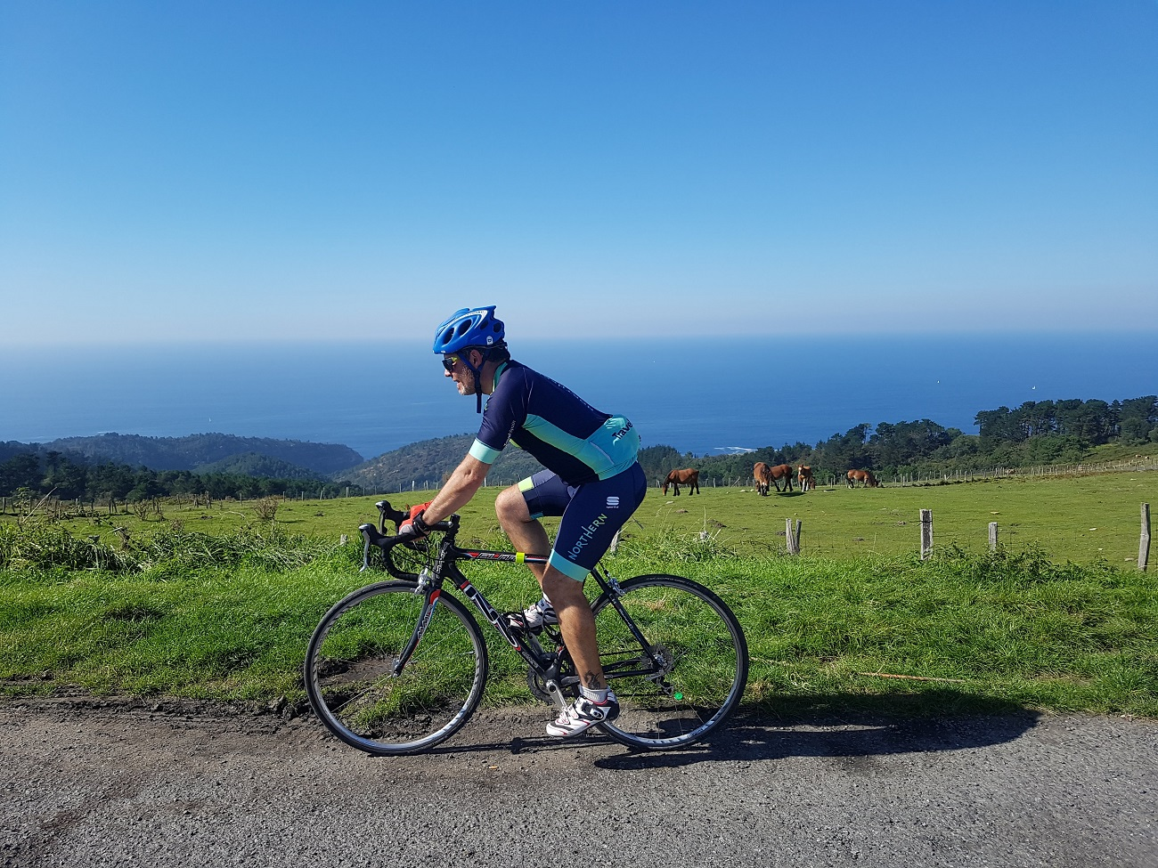 Cycling in northern spain