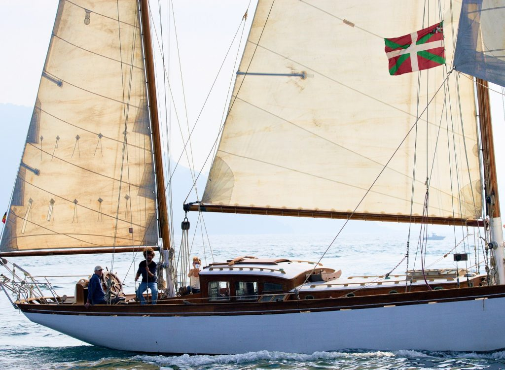 Basque Lands Sailing on a 1924 schooner