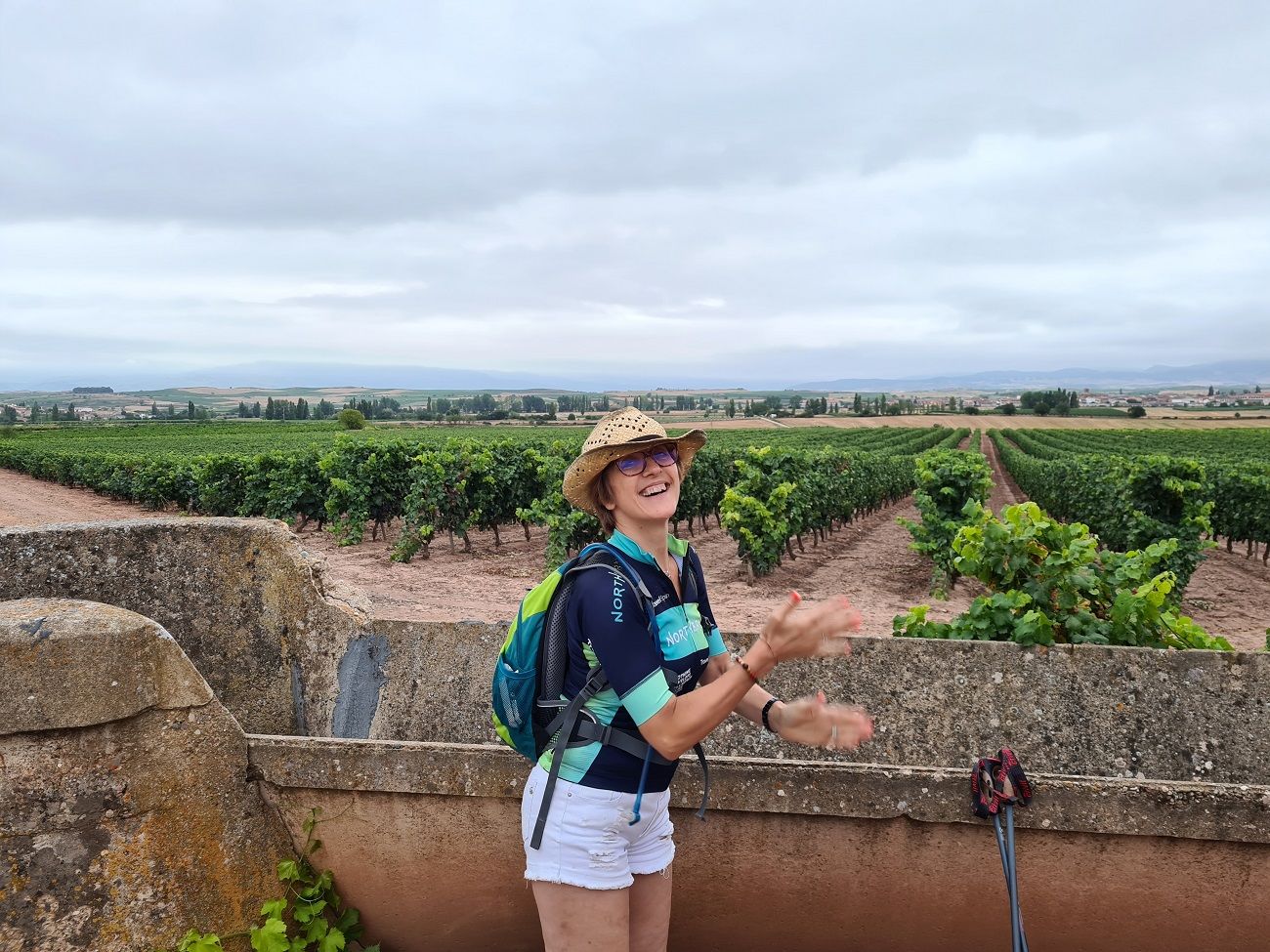 Walking and Wine