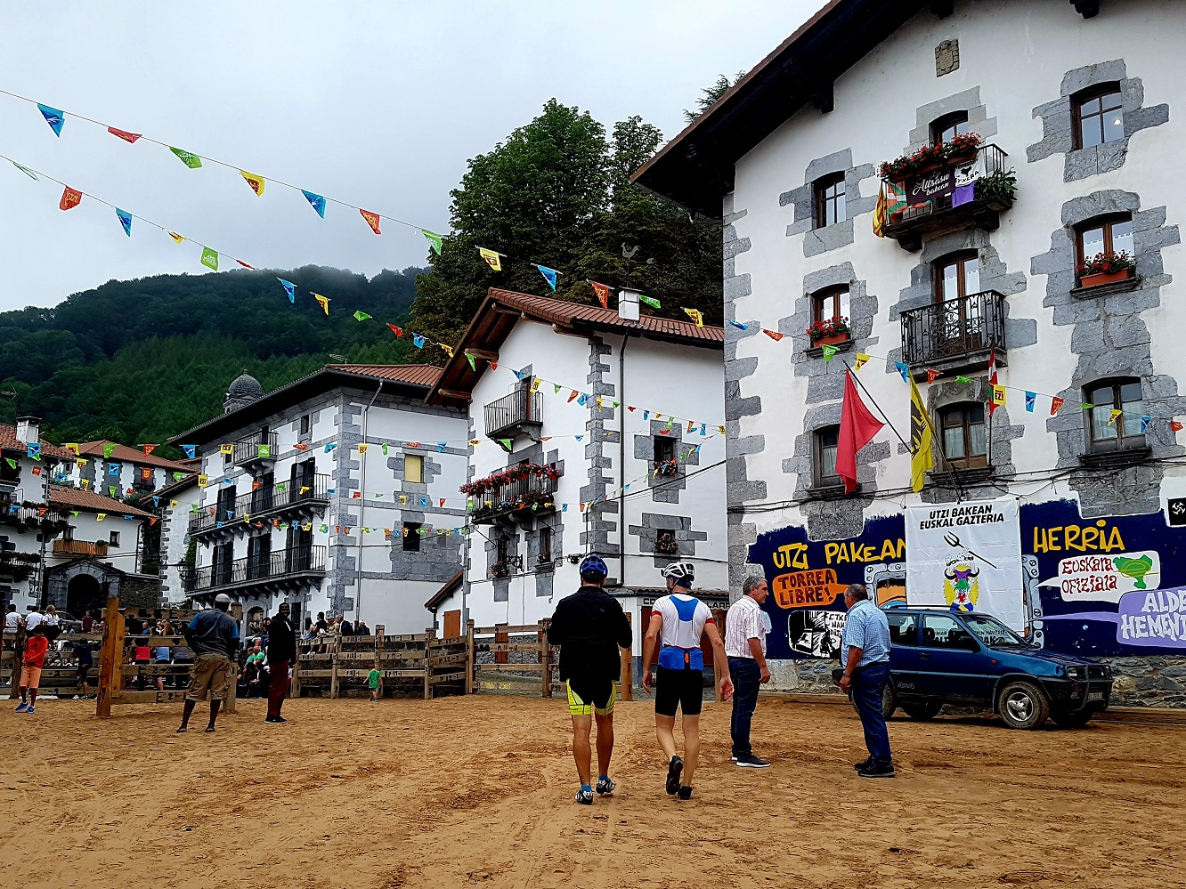 BIKING ROUTES OUT OF PAMPLONA