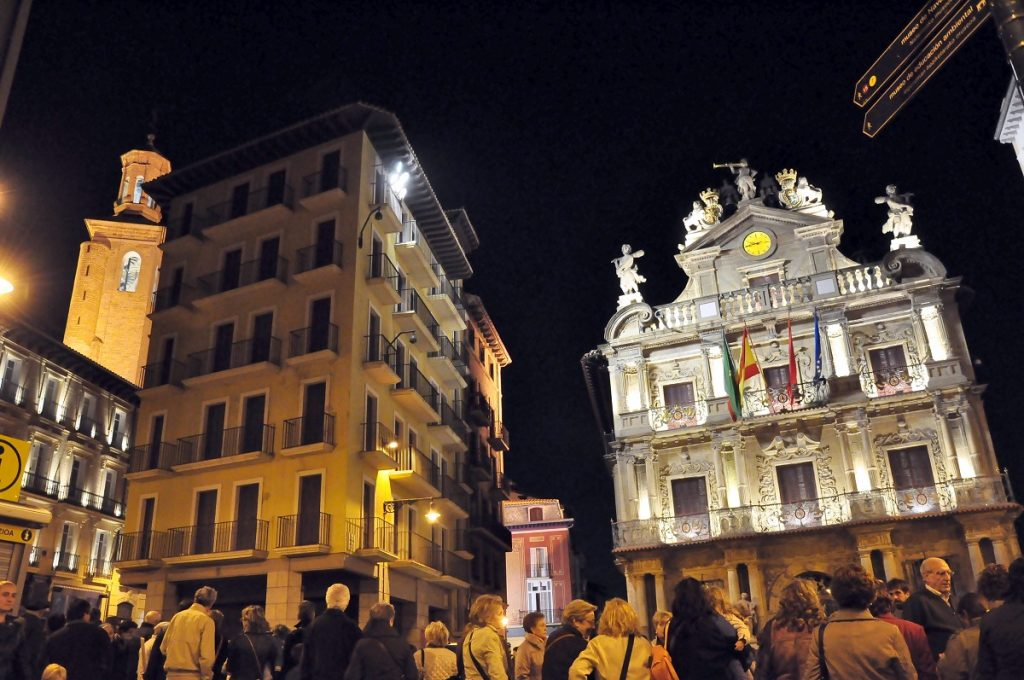 Pamplona - Navarra - Spain. best city destinations in northern Spain