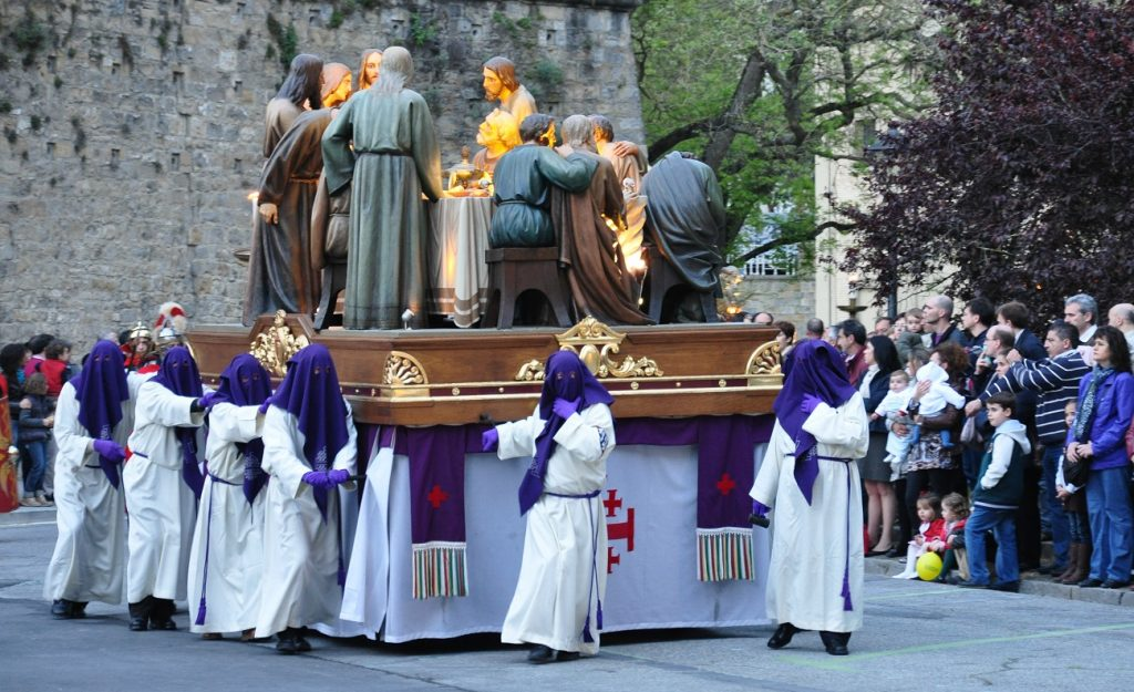 easter in Pamplona