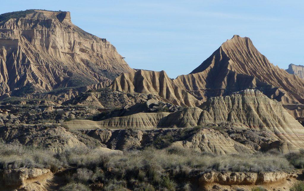 bardenas desert on foot