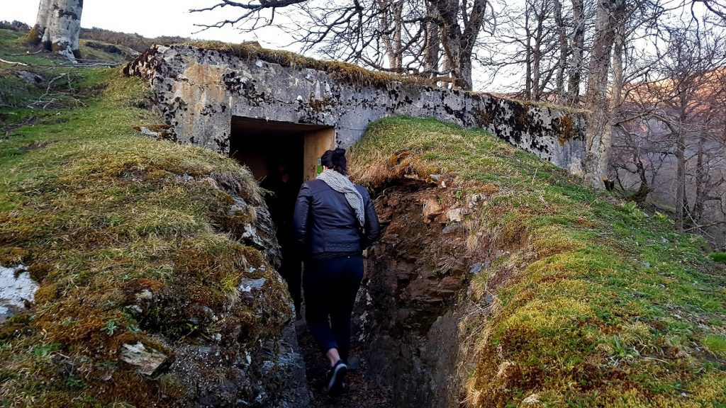 what to see in northern spain bunkers
