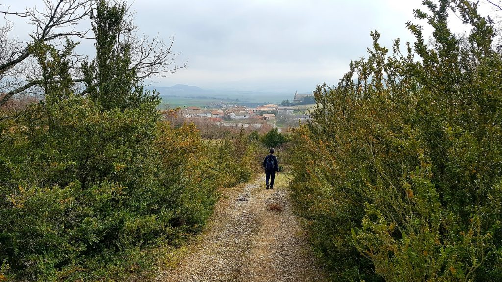 hiking in northern spain