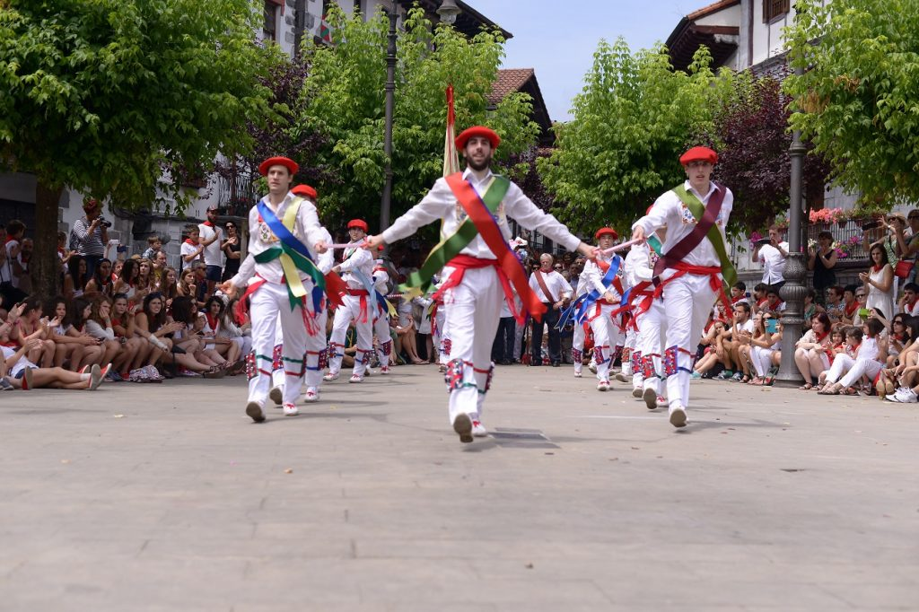 san fermin festival lesaka
