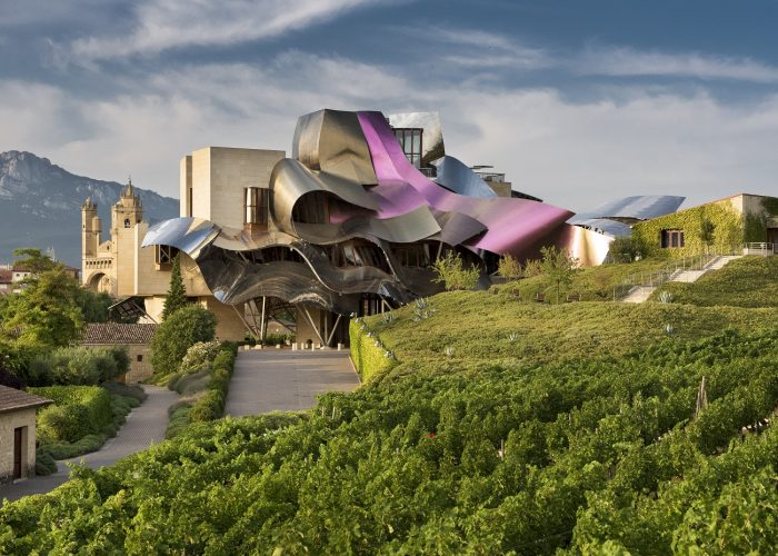 northern spain travel hotel marques de riscal