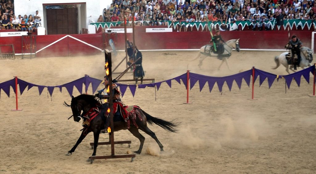 spain medieval tournament estella