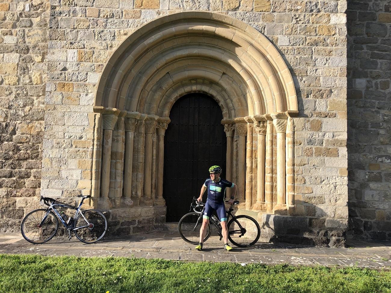road biking saint james way