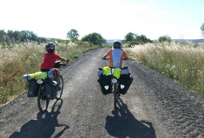 camino de santiago by bike with kids